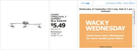IKEA - Calgary Wacky Wednesday Deal of the Day (Sept 25) A