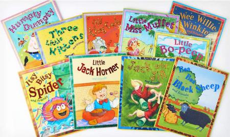 10-Book Set of Nursery Tales