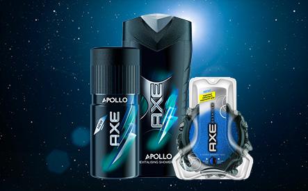 3-Piece AXE Apollo Shower Pack