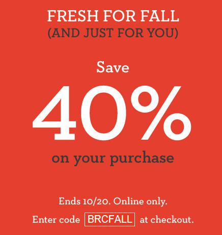 Banana Republic 40 Off Your Online Purchase Promo Code (Until Oct 20)