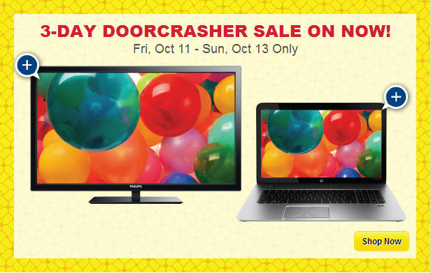 Best Buy 3-Day Anniversary Sale & Thanksgiving Sale (Oct 11-13)