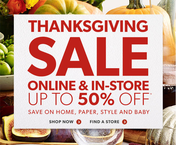 Chapters Indigo Thanksgiving Sale - Save up to 50 Off More Great Deals