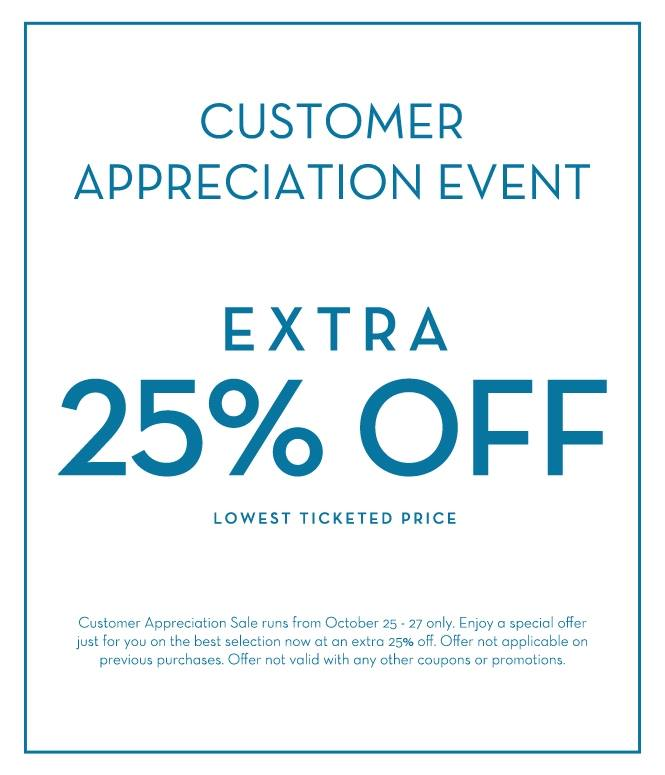 Danier Customer Appreciation Event - Extra 25 Off Lowest Ticketed Price (Oct 25-27)