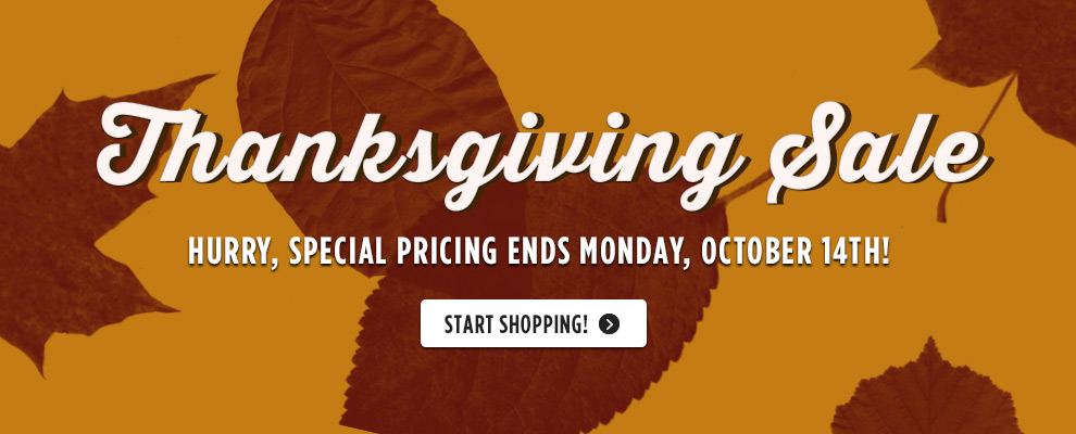 Golf Town Thanksgiving Sale (Until Oct 14)