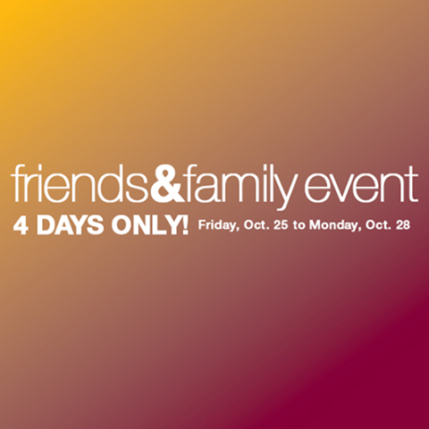 Home Outfitters Friends & Family Event In-Store Coupon (Oct 25-28)