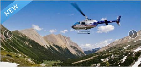 Kananaskis Helicopter Tours TeamBuy
