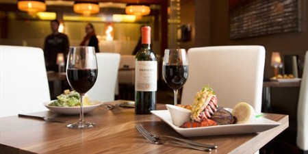 Ric's Grill $69 for Steak & Seafood Dinner for 2 People
