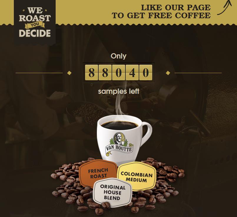 Van Houtte FREE Sample of Van Houtte K-Cup or Ground Coffee