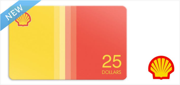 $12 for a $25 Shell Gift Card