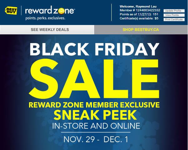 Best Buy Black Friday Sneak Peak Flyer (Nov 29 - Dec 1)