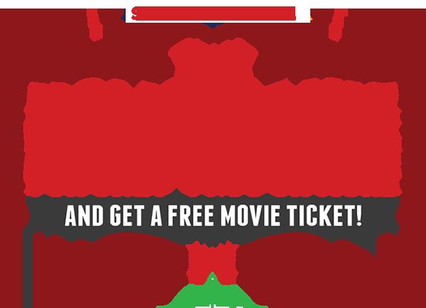 Cineplex Store Get a Free Movie Ticket when you Buy a Home Movie (Until Dec 31)