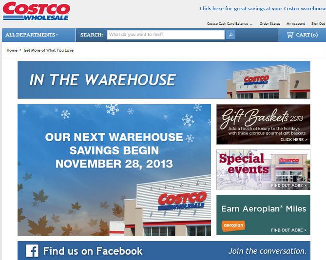 Costco No New Weekly Coupons until Nov 28