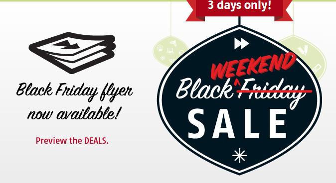 Future Shop Black Friday Weekend Sale (Nov 29 - Dec 1)