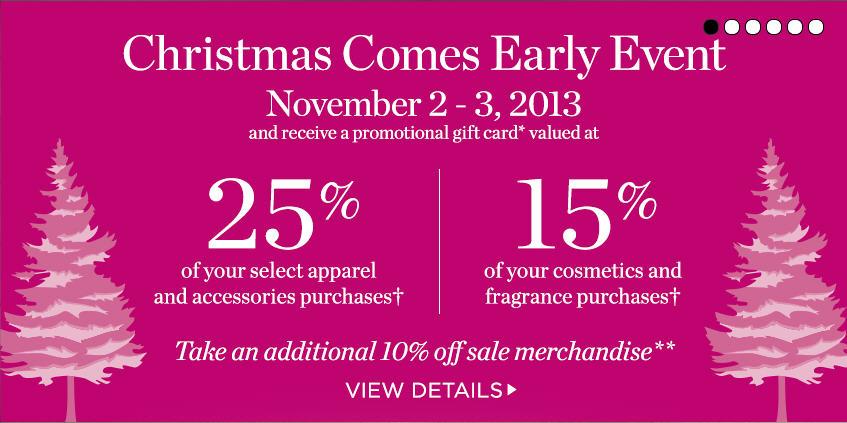 Holt Renfrew Christmas Comes Early Event (Nov 2-3)