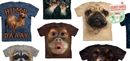 Lifelike Big Animal Face T-Shirt