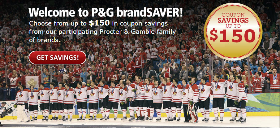 P&G brandSAVER Choose from over $150 in Coupons Savings