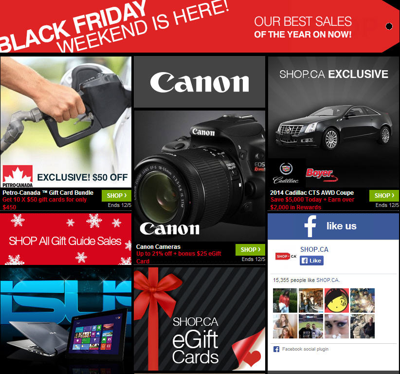 Shop Black Friday Weekend - Sign-Up Free and Get $25
