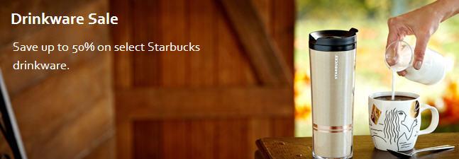 StarbucksStore Drinkware Sale - Save up to 50 Off on Select Starbucks Drinkware