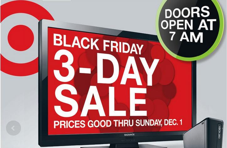 Target Canada Black Friday 2013 Sneak Peak Flyer (Nov 29 - Dec 1)