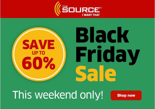 The Source Black Friday Sale - Save up to 60 Off (Nov 29-Dec 1)