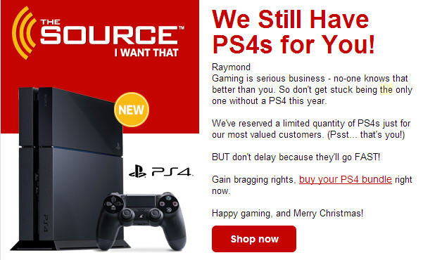 The Source Playstation 4 Still Available - Reserve Online