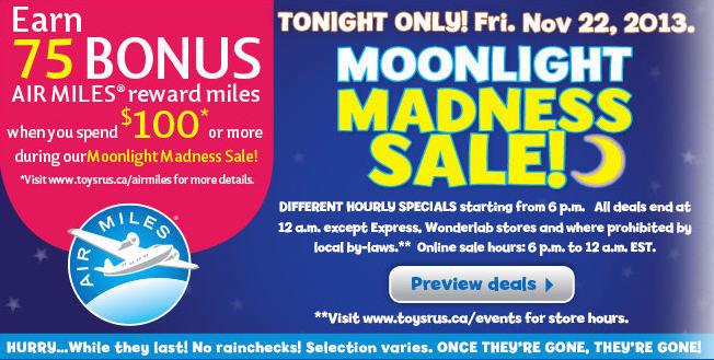 Toys R Us Moonlight Madness Sale (Nov 22)