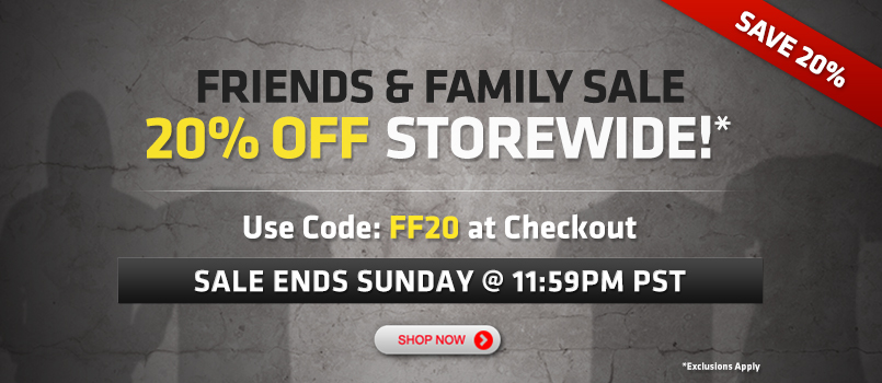 UFC Store Friends & Family Sale - 20 Off Storewide Code (Until Nov 24)