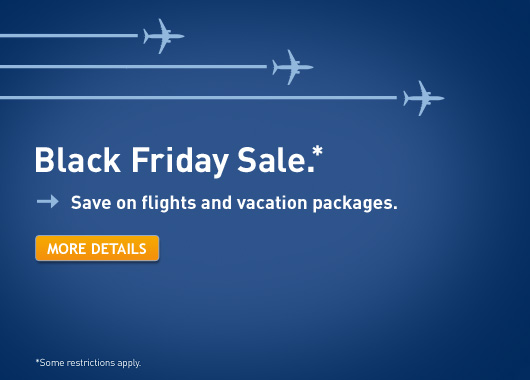 WestJet Black Friday Sale - Save on Flights and Vacation Packages (Book by Dec 2)