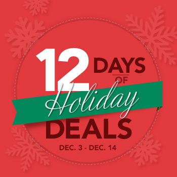 Costco 12 Days of Holiday Deals (Dec 3-14)