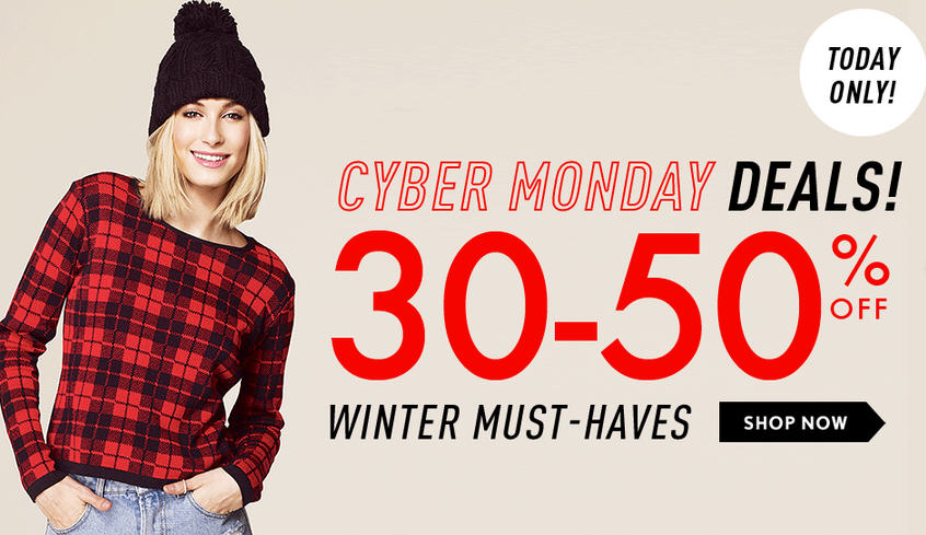 Forever 21 Cyber Monday Deals - Save 30-50 Off Winter Must Haves (Dec 2)