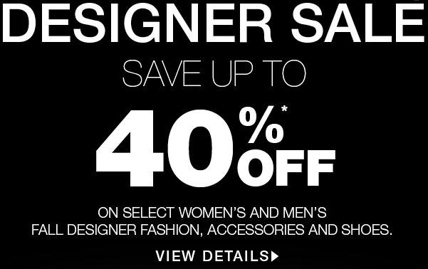 Holt Renfrew Designer Sale - Save up to 40 Off Select Items