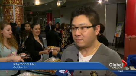 I was interviewed by Global TV about the Golden Inn Restaurant