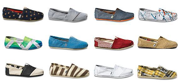 TOMS $10 Off Any Purchase over $50 + Free Shipping (Dec 3-9)