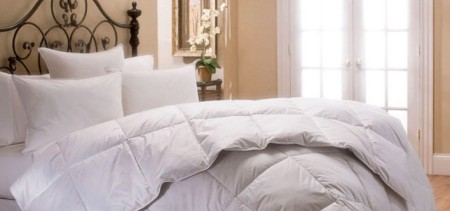 White Duck Down and Feather Duvet Deal