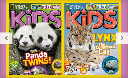 National Geographic Magazines for Kids WagJag