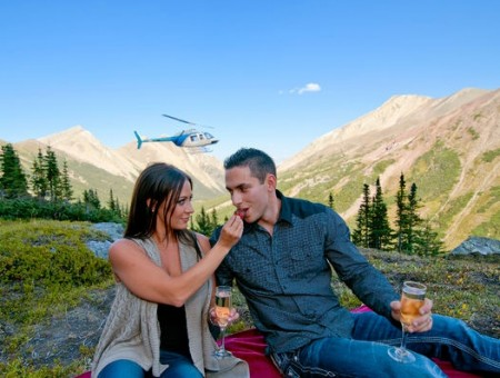 Rockies Heli Tours Canada - Icefield Base