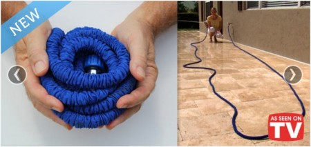 -Hose Revolutionary Expandable Garden Hose