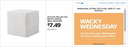IKEA - Calgary Wacky Wednesday Deal of the Day (May 28)