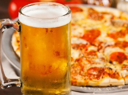 Pizza Brew at Minhas Micro Brewery