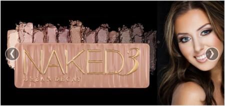aked3 Rose Neutral Eyeshadow Set