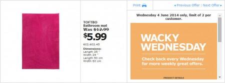 IKEA - Calgary Wacky Wednesday Deal of the Day (June 4)