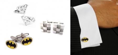 Pair of Superhero Cufflinks