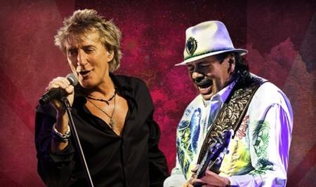 Rod Stewart & Santana- The Voice, The Guitar, The Songs Tour