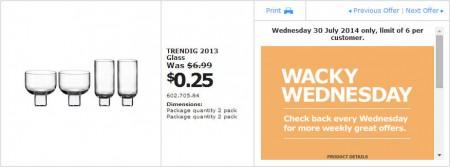 IKEA - Calgary Wacky Wednesday Deal of the Day (July 30)