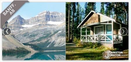 Johnston Canyon Resort in Banff