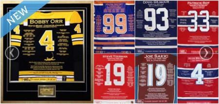 uthentic Autographed Hockey Jersey