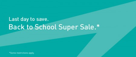 Last Chance WestJet - Back to School Super Seat Sale (Book by Sept 8)