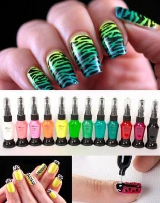Buytopia Vendor 24 For A Set Of 12 Professional Nail Art Pens 67
