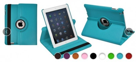 iPad 360 Rotating Stand Case