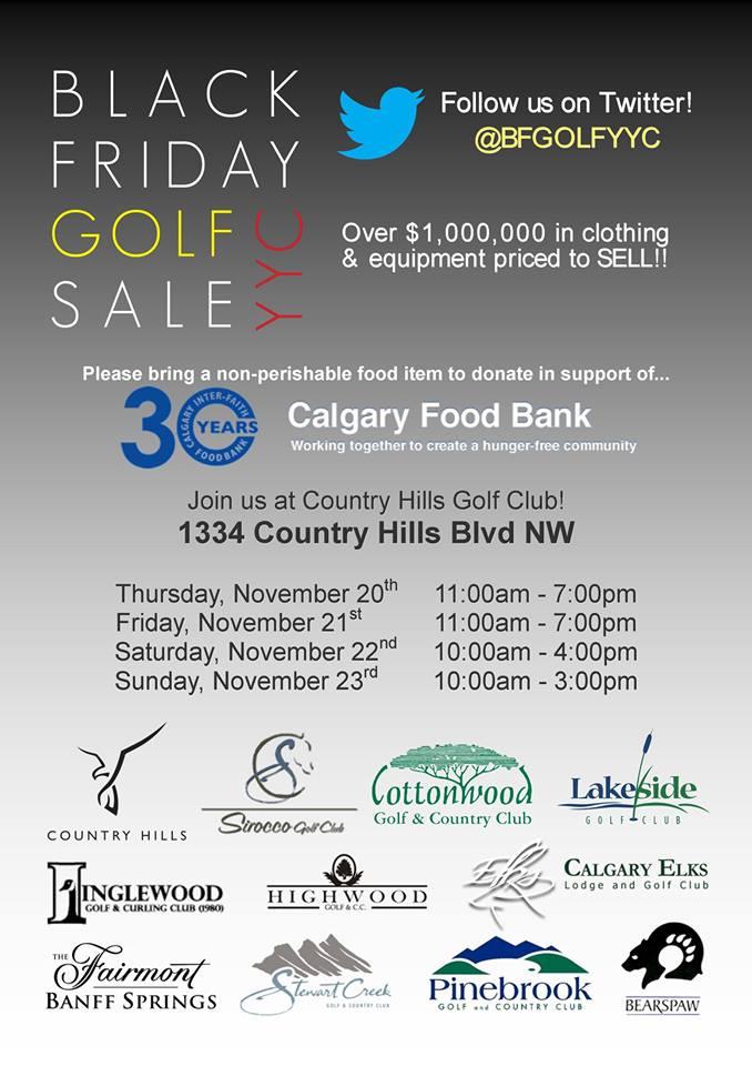 Country Hills Golf Club Black Friday Golf Sale (Nov 20-23)